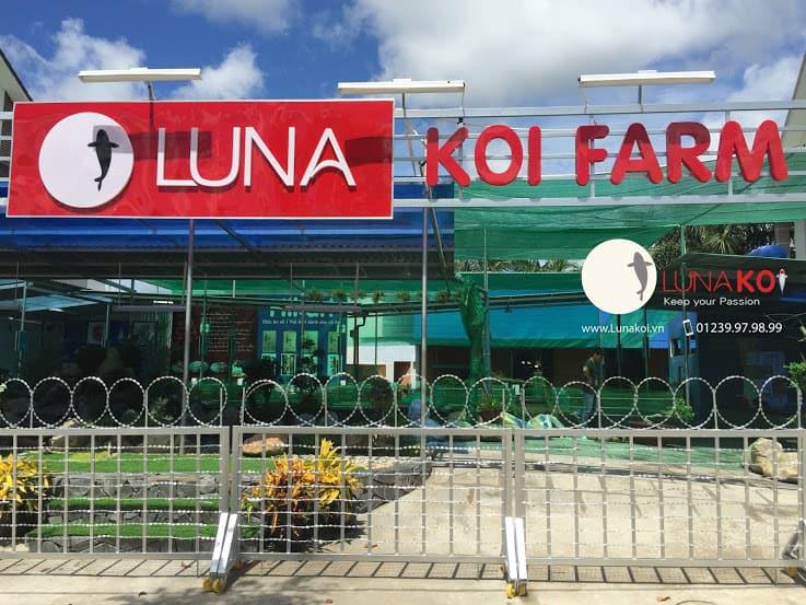 Luna Koi Farm