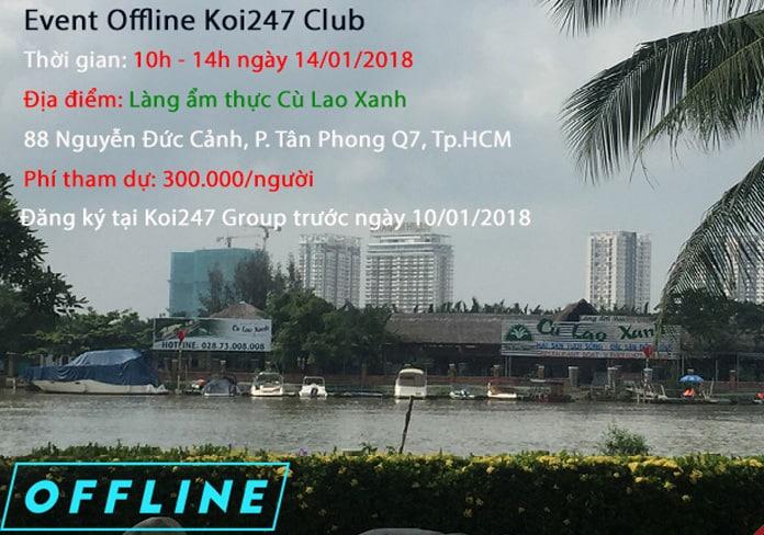 Offline Koi247 Club 14/01/2018